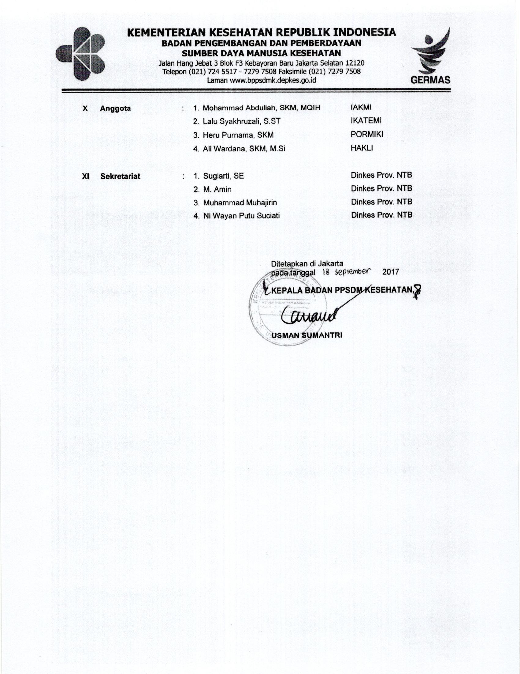 Mtkp Dinas Kesehatan Provinsi Ntb