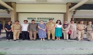 Kunjungan Perwakilan Donor Program  Seeing Is Believing (SIB) Ke Dinas Kesehatan Provinsi NTB
