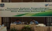 Pertemuan Evaluasi, Pengembangan dan Pembuatan SOP Sistem Informasi Kesehatan Dinas Kesehatan Provinsi NTB Hari Pertama
