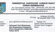Informasi Test Wawancara dan Kemampuan Komputer Calon Enumerator Riskesdas Tahun 2018 Dinas Kesehatan Lombok Barat