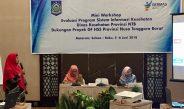 Pencapaian dan Pengalaman Dalam Pelaksanaan Project GF HSS Komponen SIK Di Lombok Timur