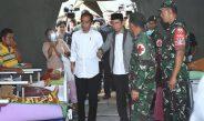 KUNJUNGAN KERJA PRESIDEN REPUBLIK INDONESIA DALAM RANGKA MENINJAU KONDISI KORBAN BENCANA GEMPA LOMBOK