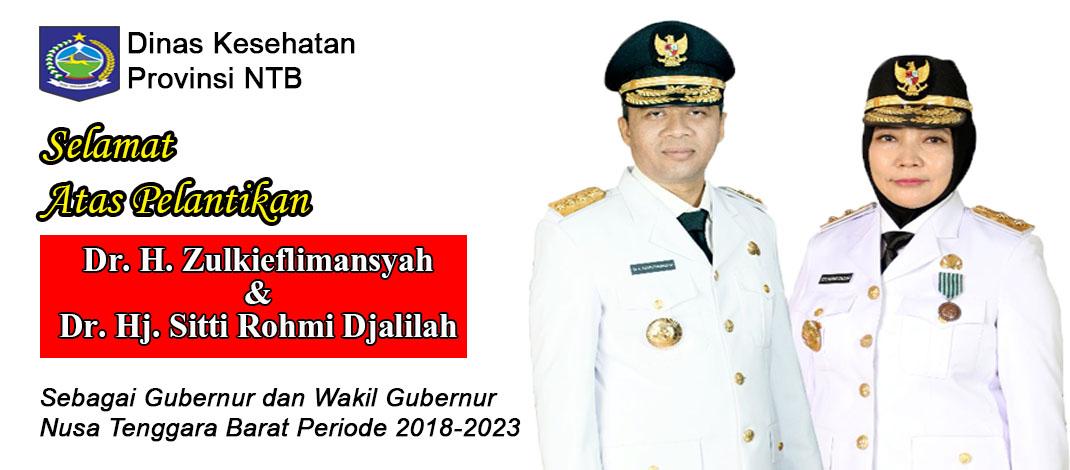 Selamat Kepada Gubernur NTB Baru Periode 2018-2023