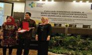 Penghargaan Kinerja Keuangan Terbaik Riset Riskesdas 2018