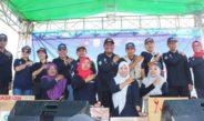 Pencanangan Germas Oleh Dikes Prov NTB di Kab Sumbawa Barat