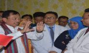 Kunjungan Menteri Kesehatan RI Ke RSAD dan RSUD Provinsi NTB