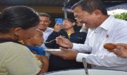 Kunjungan kerja menkes ke Kantor Bupati Lombok Barat