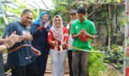 Edukasi Kesehatan di Sela Sela Launching Hidroponik dan Desa Wisata