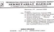 Surat Edaran Covid-19 NTB 2021