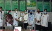 Jalin silahturahmi, pagi tadi Tim PPID Dinas Kesehatan Provinsi NTB kunjungi PPID RSUD Provinsi NTB